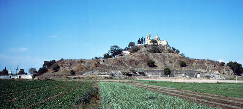 Tlalchihualtepetl, the Great Pyramid of Cholula