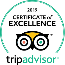 Albert Coffee Tours 2019 Trip Advisor Certificate of Excellence
